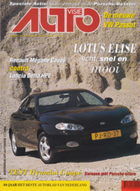 Coupe 2.0i FX Autovisie reprinted roadtest, 8 pages, # 17-1996, Dutch language