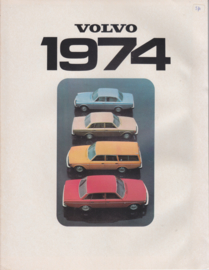 Program brochure, 8 pages, English language, 1974