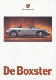 Boxster brochure, 90 pages, 08/1996, hard covers, Dutch