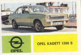 Opel Kadett 1200 S, 4 languages, # 135