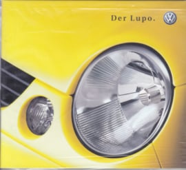 Volkswagen Lupo,  CD-ROM, factory issue, Germany, about 2000