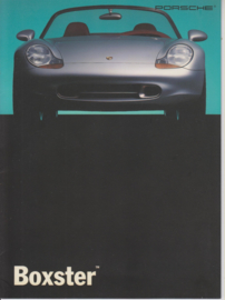 Boxster study model brochure, 8 pages, 12/92, German/English (US) %