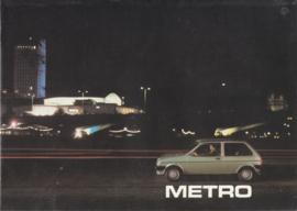 Mini Metro, 16 pages, A4-size, about 1983, Dutch language, # EO140