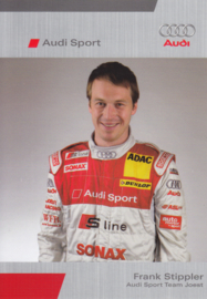 DTM racing driver Frank Stippler, unsigned postcard 2005 season, German language