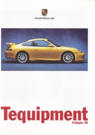 Tequipment Spring brochure, 8 pages, 03/1999, German language
