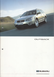 Outback brochure, 36 pages, German language, 12/2003