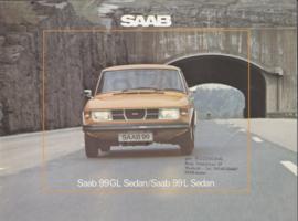 99 GL/L Sedan brochure, 24 pages, 1976, Dutch language