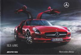 SLS AMG sportscar brochure, 20 pages, 12/2009, German language