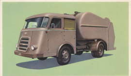 Garbage Truck, standard size, factory issue, 5 languages, about 1960, # 21