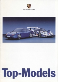 Top Models - fold-out brochure, 16 pages, 11/1997, German language