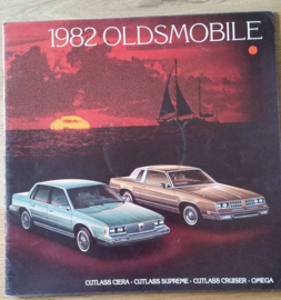 Cutlass/Cutlass Cruiser/Omega 1982, 32 large pages, 09/1981, USA