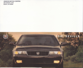 Seville folder, 4 pages, 2001, English language, USA
