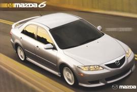 6 Sports Sedan 4-Door, 2004, US postcard, A5-size