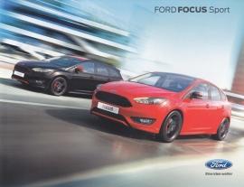 Focus Sport brochure, 4 pages, 08/2015, German language