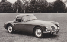 MG A Sport Coupe, Bur. Autopress, date 458, Serie I No. 1