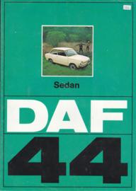 44 Variomatic Sedan brochure, 8 pages, 09/73, Dutch language