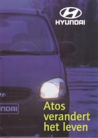 Atos brochure, 8 pages, about 1998, Dutch language (Belgium)