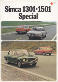 1301 & 1501 Special + Tourist, 8 pages, 9/1973, Dutch language
