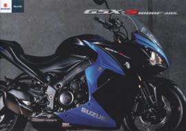 Suzuki GSX-S 1000F ABS brochure, 12 pages, #99994-1000F-BRO, 2016, Dutch language