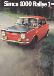 1000 Rallye 1, 6 pages, 9/1972, Dutch language