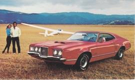 Montego GT 2-Door Hardtop, US postcard, standard size, 1972