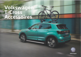 T-Cross accessories brochure, A4-size, 4 pages, 01/2019, Dutch language