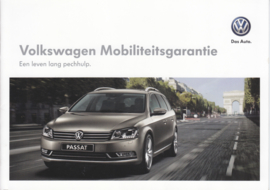 Mobility Warranty brochure, A5-size, 8 pages, Dutch language, 10/2013