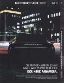 Porsche Times magazine, # 4-2016, 80 pages, PC Olympiapark München
