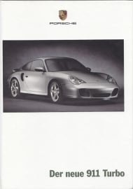 911 Turbo brochure, 82 pages, 03/2000, hard covers, German