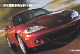 MX-5 Miata, 2003, US postcard, A5-size