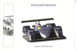 Chrysler LMP Race car, A6-size postcard, Geneva 2001
