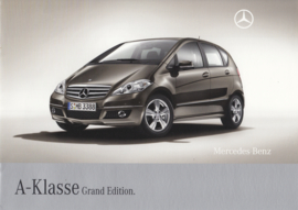 A-class Grand Edition brochure, 8 pages, 04/2008, German language
