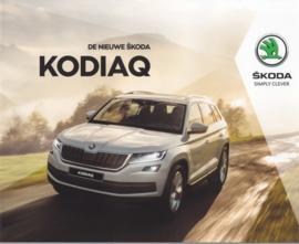 Kodiaq brochure, 60 pages, Dutch language, 2017