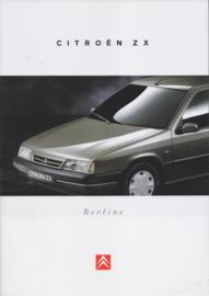 ZX Berline brochure, 32 pages, 07/1995, Dutch language