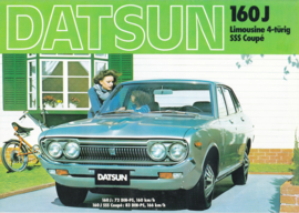 160 J Sedan &  SSS Coupe brochure, 8 pages, German language, about 1975