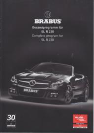Brabus tuning SL R 230 brochure. 12 pages, 3/2008, German/English language
