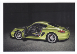 Cayman R postcard,  DIN A6 size, factory issue, about 2010