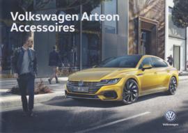 Arteon accessoires brochure, A4-size, 4 pages, 2019, Dutch language