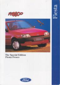 Fiesta Fresco brochure, 6 pages, 10/1993, English language, UK