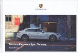 Panamera Sport Turismo brochure, 180 pages, 09/2017, hard covers, German language