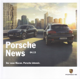 News 04/2013 with Macan, 58 pages, 12/2013, German language