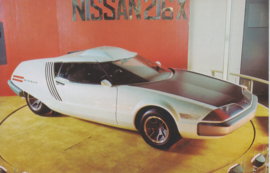 Nissan 216 X collectors card, Japanese text, number 58, 1977