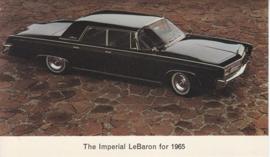 Le Baron,  US postcard, standard size, 1965
