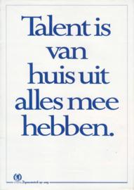 405 Sedan folder, 4 pages, A4-size, 1988, Dutch language