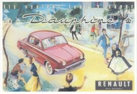 Dauphine, A6 size postcard, Restaurant Dauphine Amsterdam #9