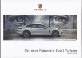 Panamera Sport Turismo brochure, 168 pages, 03/2017, hard covers, German language