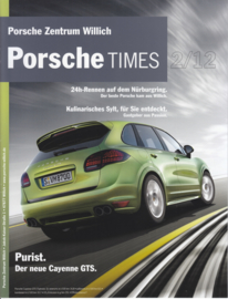 Porsche Times magazine, # 2-2012, 16 pages, PC Willich