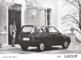 """Lancia Y10 """"mia"""" - factory photo - 09/1991"""