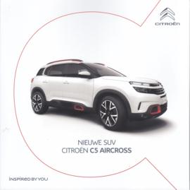 C5 Aircross brochure, 64 pages, 09/2018, Dutch language