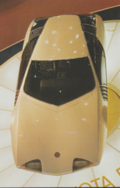 Toyota EX 7 collectors card, Japanese text, number 53, 1977